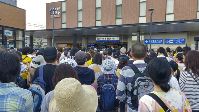 【裏技】満員電車よサヨナラ! 甲子園球場からの帰りに混雑を回避する方法