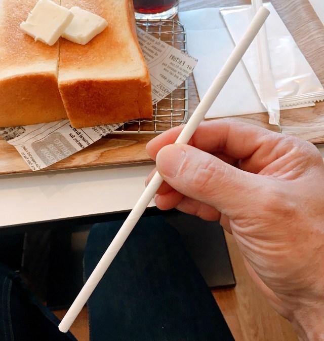 人生で初めて「紙製ストロ―」を使ってみた率直な感想 / これを吸い続けるのか……