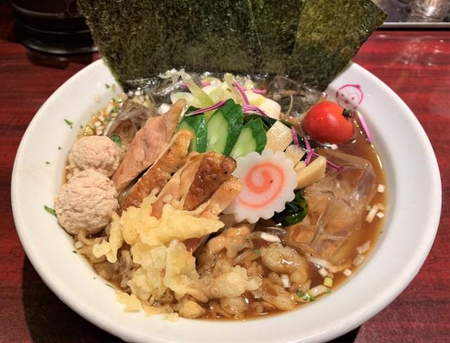 【山形県民激推し】はじめて『冷やしラーメン』を食べてみた! トッピングもりもりな「麺ダイニング ととこ」のオリジナルラーメンがマジうま!!