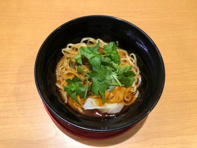 【まさか】タイ料理大好きっ子がスシローの「本格トムヤムラーメン」を食べた結果…
