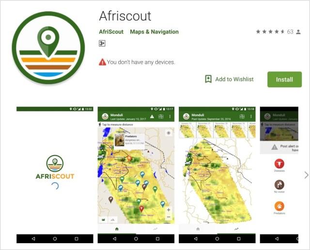 【マサイ通信:第259回】遊牧のためのスマホアプリが存在するって知ってた? その名も「Afriscout」だ!