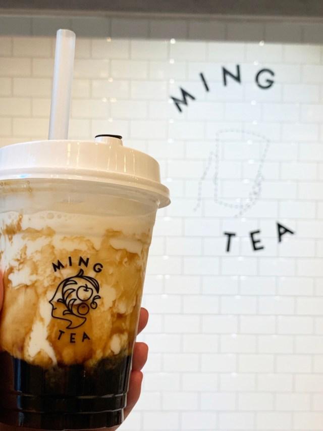 激戦区なのに並ばず飲める『黒糖タピオカラテ』が絶品! 新宿三丁目「MING TEA」2号店はオシャレな超穴場