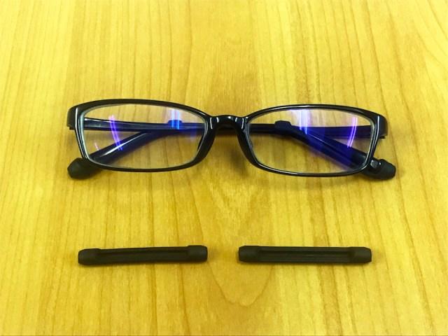 【Amazon検証】メガネのズレ落ちを阻止せよ! ギャグみたいにズレるメガネ vs 250円なのにズレないと評判のメガネロック