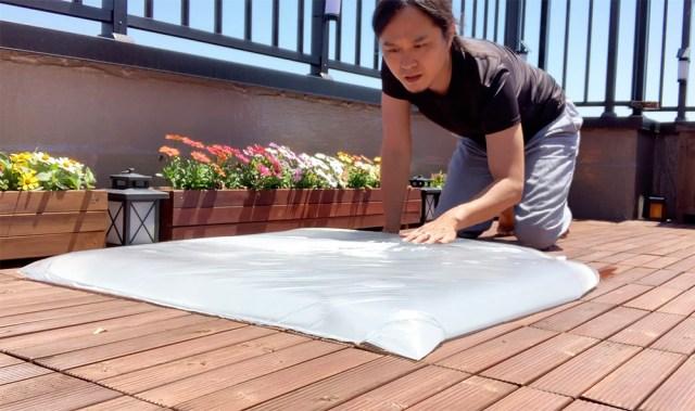 【100均検証】シーラーとゴミ袋でウォーターベッドを作ってみた!