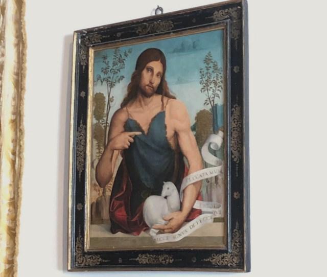 【難問クイズ】この絵に描かれている人は誰でしょう? ヒントその1:あの人ではない。ヒントその2:由緒ある宮殿で発見した「ガチな絵」