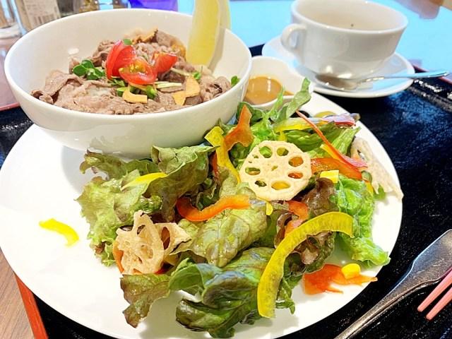 香川県小豆島のご当地グルメ「ひしお丼」が激ウマ! オリーブ牛の破壊力にも震えが止まらない… / オリーブ園『オリーブパレス・レストレア』