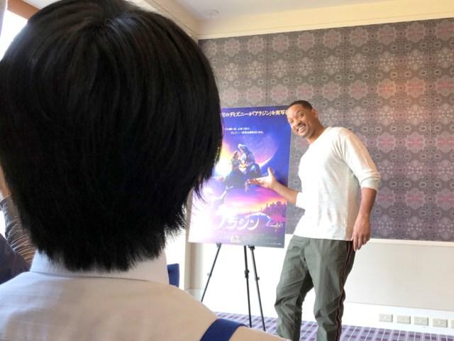 【スゴイぜ】あのウィル・スミスを感心させた「ディズニーマニアの質問」がコレだ! 映画『アラジン』の記者会見にて