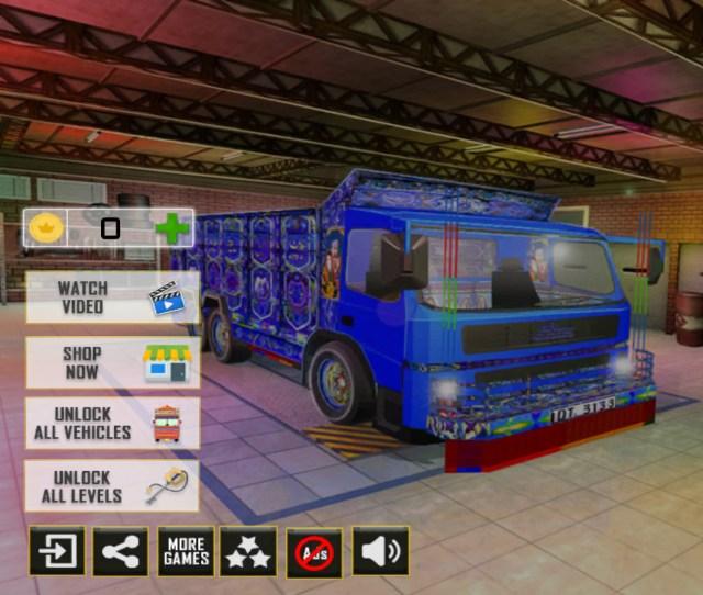 【魁!! アプリ塾】インドの貨物トラック運転手体験ができるドライブゲームがマニアックすぎる!