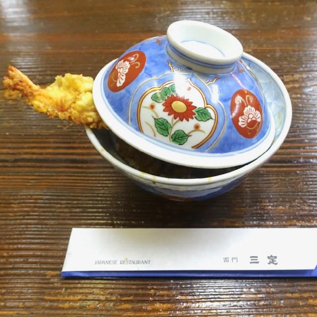 創業182年! 日本最古の天ぷら屋「雷門 三定(さんさだ )」で1番人気の『上天丼』を食べてきた