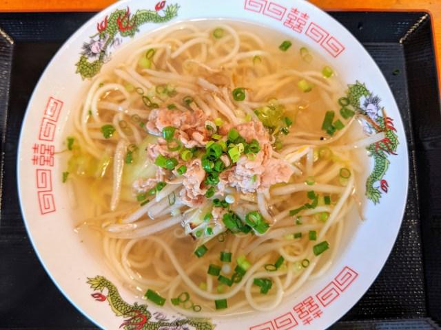 【450円】芋洗坂係長のお店『二代目清美食堂』で門司港グルメ「ちゃんら~」を食べたらなんとも懐かしい昭和の味がした