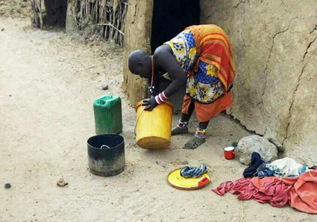 問「マサイ族はどのくらいの頻度で洗濯するの?」に対するマサイ族の戦士の答え / マサイ通信:第285回