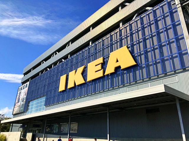 IKEAには「10メートルのぬり絵」が売られている