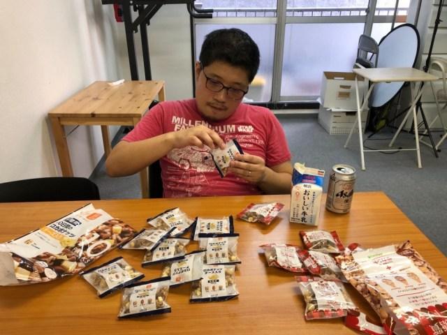 【低糖質っぽい菓子ぜんぶ食う】カルディで見つけた「スイートナッツ」VS「ロカボナッツ」のナッツ対決 / ひと袋では勝敗が決まらず延長戦に…