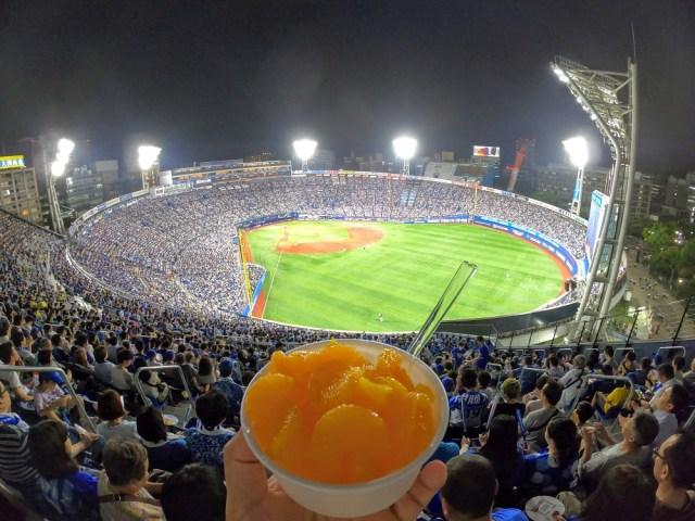 【球場メシ】セブンイレブン商品で横浜スタジアム名物「みかん氷」と「シウマイカレー」を再現してみた