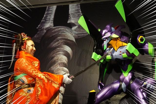 「ヱヴァンゲリヲンと日本刀展+EVANGELION ARTWORK SELECTION」へ行ってきたので、その魅力を刀剣好きの視点からお伝えしたい / 新宿高島屋