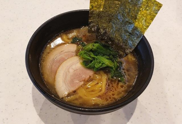 かっぱ寿司が本気で作った「家系ラーメン」を食べてみたら寿司屋ならではのトッピングがヤバかった