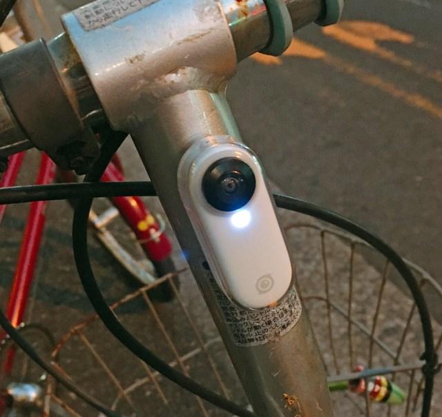 【楽しすぎ】アクションカメラ「insta360 GO」をチャリに付けて撮影すると世界が変わる!