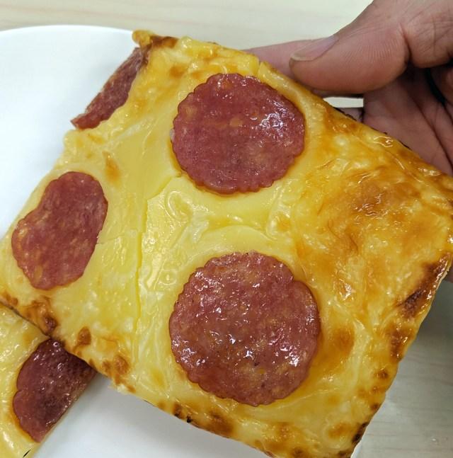 【イタリア人もビックリ】ピザかと思ったら、チータラだったでござる