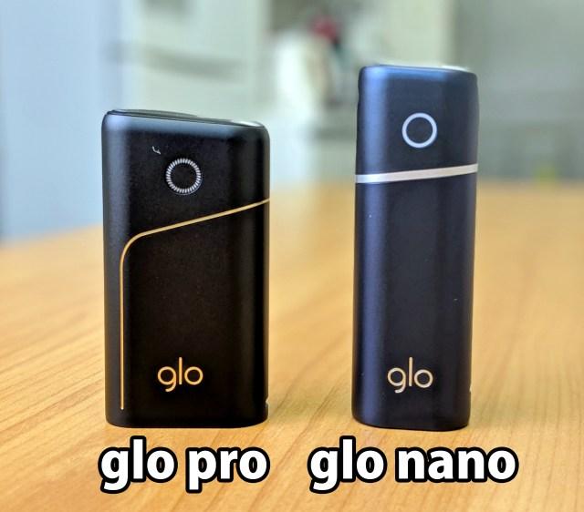 【たばこニュース】新製品を発売したばかりのグローがまた2つ新製品「プロ」と「ナノ」を発表! ひと足先に試してみた!!