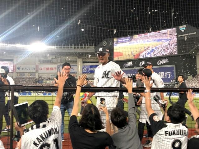 千葉ロッテ「福浦和也」の引退試合を観に行ったら自分でもビックリするくらい泣いた話