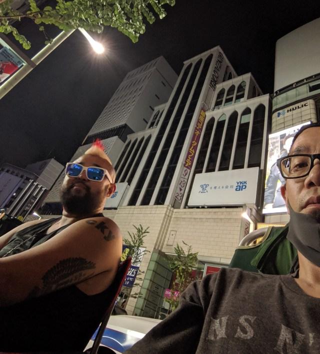 【iPhone11行列】深夜に銀座で撮影したおっさん写真集 / あるいは「Google Pixel3」すげぇえええ!