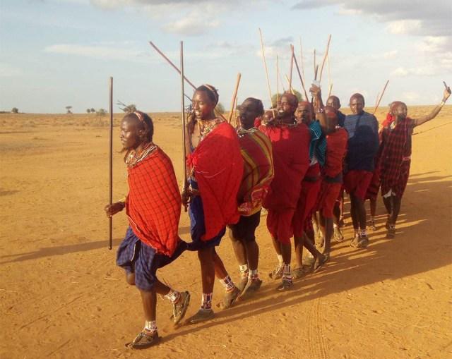 戦士希望者必見! 5年に一度の大変貴重なマサイの伝統「戦士の儀式」がコレだ!! マサイ通信:第298回
