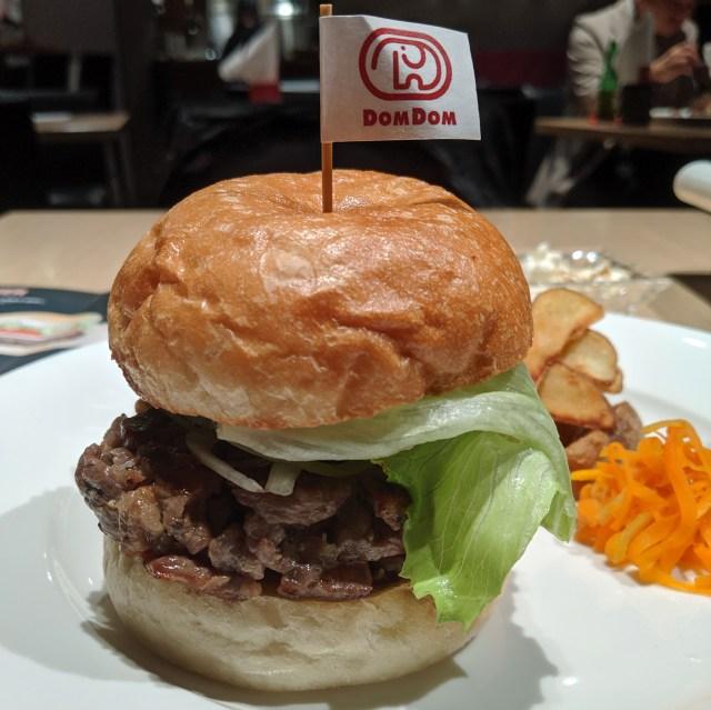 【グルメ】東京・六本木に3日間限定で出店中のドムドムバーガー「肉味バーガー」が美味すぎる! 本気になったドムドム、マジでやばい!!