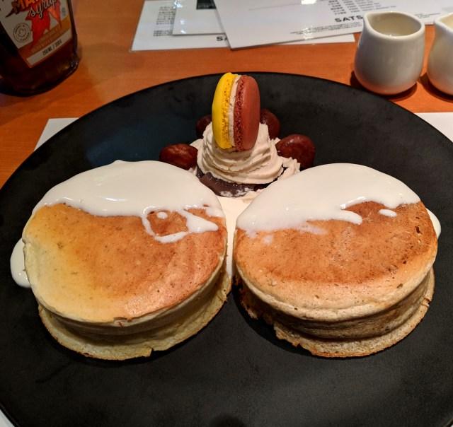 【令和おじさん】3000円のパンケーキを食べに行ったら、セキュリティチェックを受けることになりました