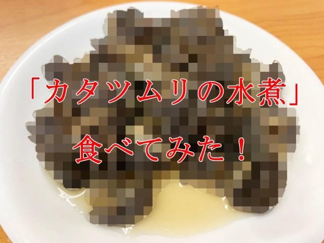 【閲覧注意】「かたつむりの水煮」を食べてみた結果…… / 缶詰マニア:第16回 ギャバン『エスカルゴ缶』