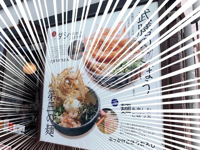 うどん界の「第三の麺」って何!? 福岡発・武膳の「ごぼう天うどん」で新境地に出会った / 東京・千歳烏山