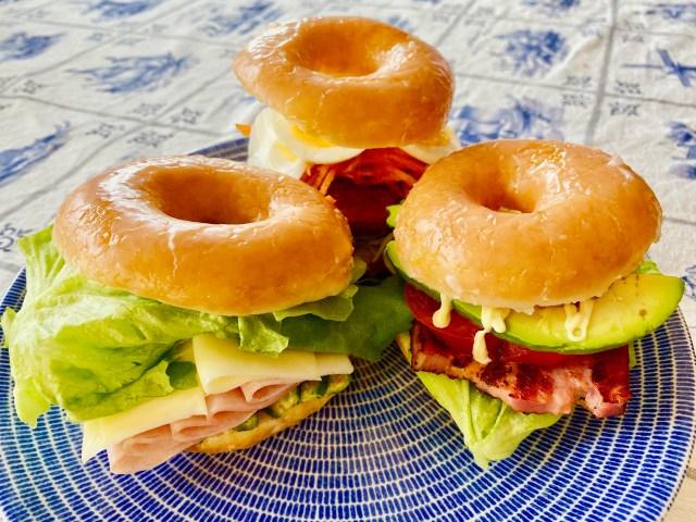 クリスピー・クリームのあま〜いドーナツでサンドイッチを作ると美味い / あるいは変化を受け入れる爽快感について