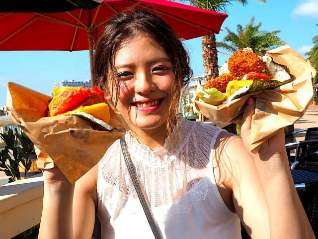沖縄ソウルフード「ポークたまごおにぎり」が大ボリュームで超ジャンクだった! まるでハンバーガーのよう!!