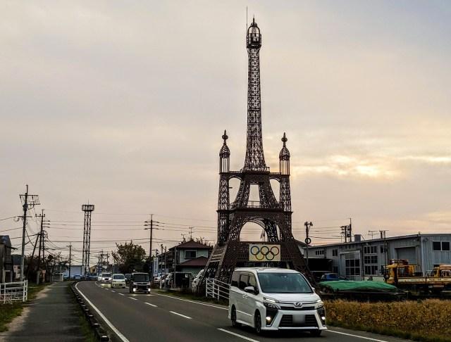 【パリじゃない】佐賀のエッフェル塔は「パリの幻の改造計画」を暇つぶしで実現させた激ヤバ芸術タワーだった!