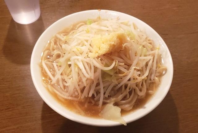 """ポン酢をスープに配合した """"さっぱり系二郎"""" は本当にさっぱりしているのか検証してみた / 東京・渋谷「凛」"""