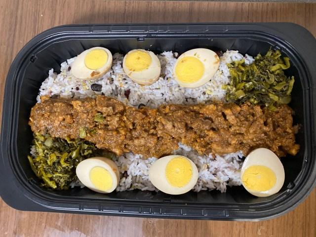 【デカ盛り】重さ1kg超! コストコの台湾メシ「ルーローハン(魯肉飯)」を食べてみたら台湾を通り越してインドが見えた / Twitterで「ウマイ」と話題