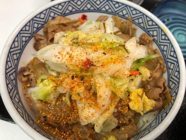 【すごい】吉野家の社長が好きな『牛丼の食べ方』がガチだった / 食べる前は「手順ややこしっ(笑)」と思ったが… 食べたら無言に