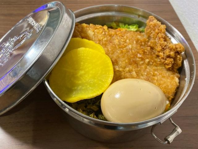全ての台湾好きに勧めたいんだけどローソン「Lチキ 台湾唐揚げ味」で『鉄道弁当』を作ったら控えめに言って最高でした!