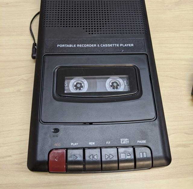 【懐かしい】約30年ぶりにカセットテープ録音で「ラジオごっこ」してみた