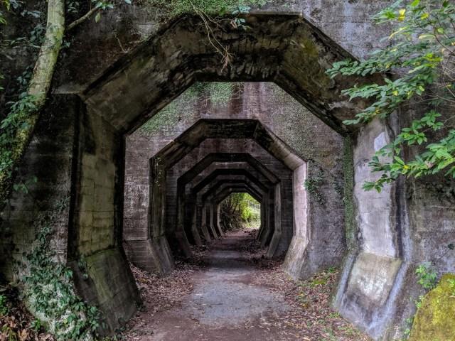 熊本の山奥に佇む「八角トンネル」はまるで異世界へと通じる入口 / 摩訶不思議すぎるトンネルをくぐってきた
