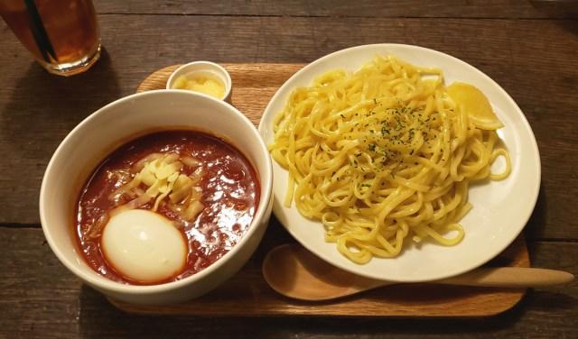"""静岡県富士市のご当地グルメ「つけナポリタン」を都内に食べに行ってみた / そしてとんでもない """"奥深さ"""" に引きずり込まれた"""