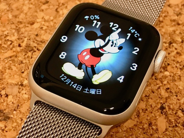「Apple Watch Series 5」を2カ月使用した感想 → プリセットに入っているミッキーマウスが最高すぎる!