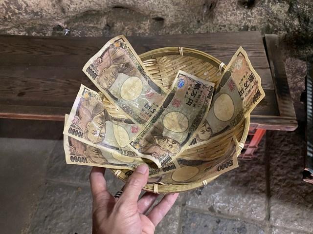 【金運検証】どうしても大金が欲しいので、鎌倉の銭洗弁財天で洗ったお札でロト6を5000円ぶん買ってみた結果