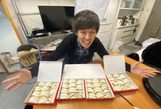 餃子初心者が宇都宮の人気餃子「正嗣(まさし)」のウマさを疑って腹が立ったので、120個注文して食べさせてみた結果