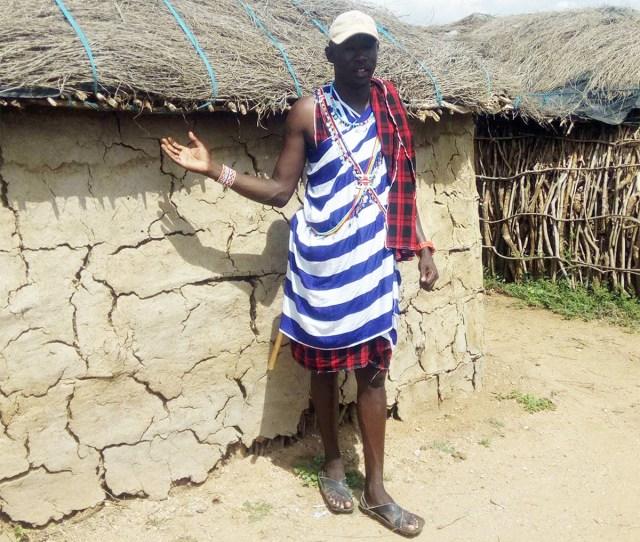 マサイ族のオシャレ番長が考えた「新しいマサイ族のファッション」がこちらです / マサイ通信:第327回