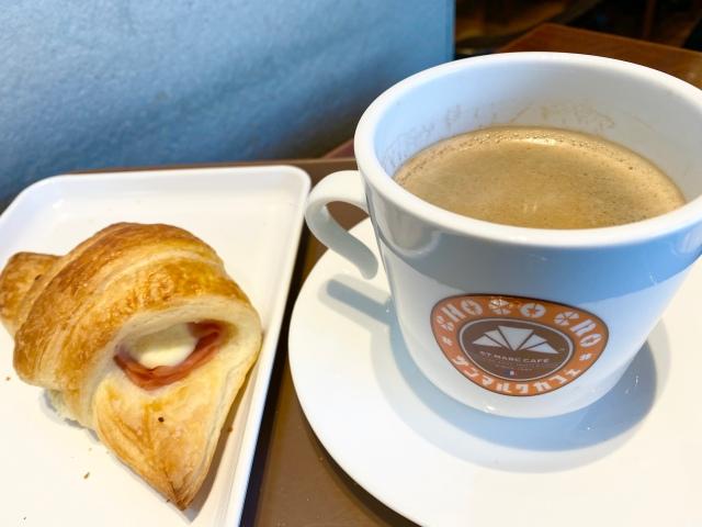 【鬼コスパ】朝スタバ行ってる場合じゃない! サンマルクのモーニングは290円でコーヒー+パンまでついてくる / テイクアウトも可
