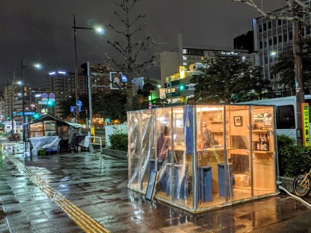 【福岡】天神で話題のコーヒー屋台「メガネコーヒー & スピリッツ」に行ってきた / 令和の屋台はスタイリッシュ過ぎィィイイイ!