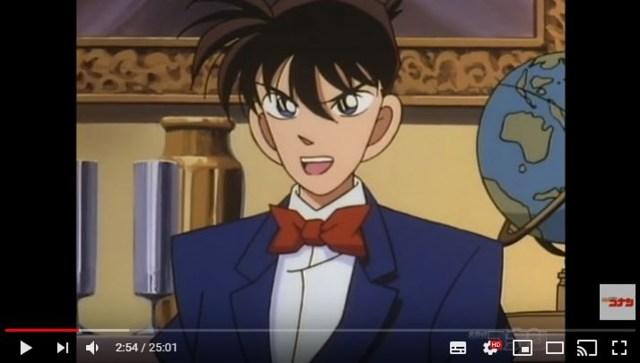 【衝撃】アニメ『名探偵コナン』がYouTubeにて無料配信スタート → 何気なく第1話を見ていたらストーリーよりも〇〇にビビった話