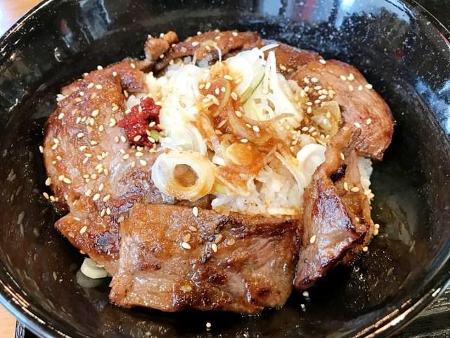 【博打グルメ】「銀だこ」に行ったのにたこ焼きを頼まず、牛カルビ丼を食らうの巻