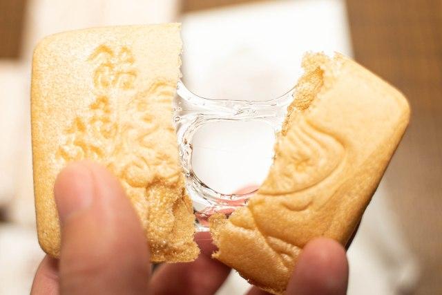 【うまい】長命堂の「飴もなか」を食べてみた / 新潟の水飴が入ったもなか