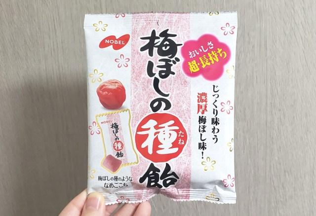 「梅ぼしの種飴」が最強の間食すぎるので今だからこそ皆さんに知ってほしい